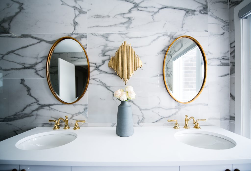 Don't forget the mirror when remodeling a bathroom