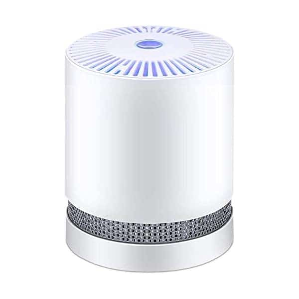 Home Air Purifier HEPA Filters With Night Light