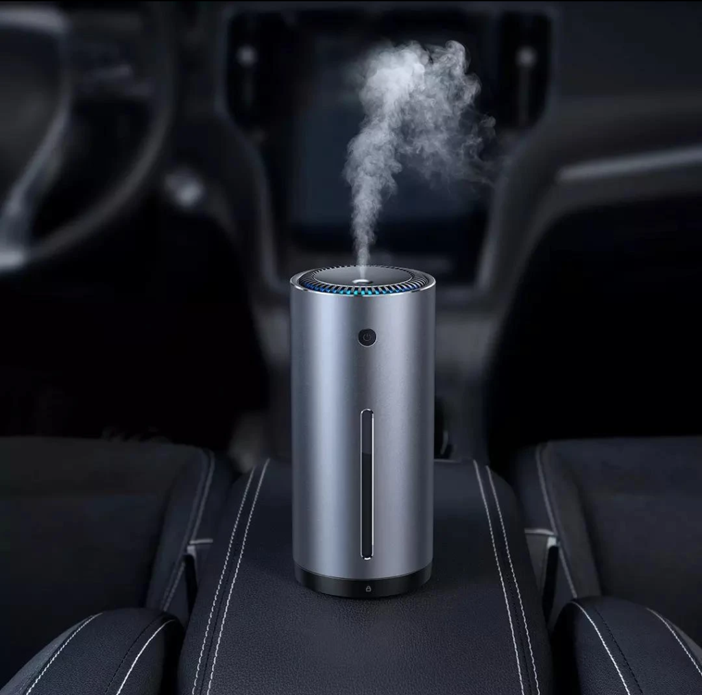 mini air humidifier is working in the car